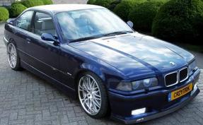 Замена задних тормозных колодок BMW E36