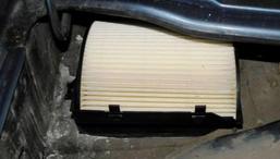 фото: фильтр салона Volkswagen Jetta и Bora