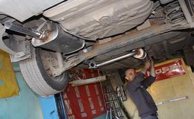 фото: глушитель Chevrolet Lanos