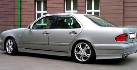 фото: заднее крыло Mercedes w210