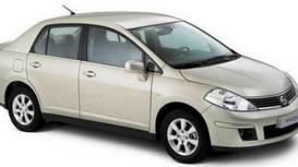 фото: лампа Nissan Tiida