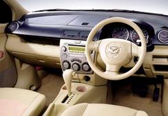 фото: магнитола Mazda Demio