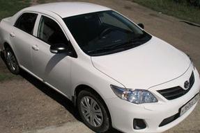 фото: масло Toyota Corolla 1,8