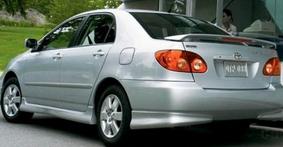 обшивка Toyota Corolla