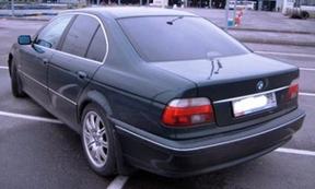 передняя опора BMW E39
