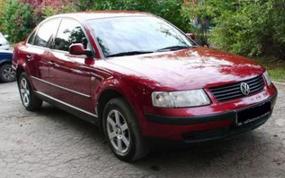 передняя фара Volkswagen Passat B5