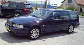 передняя стойка Volvo V70