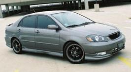 противотуманные фары Toyota Corolla