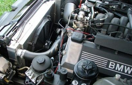 фото: радиатор BMW e38