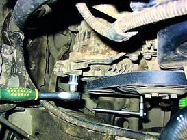 фото: ремень генератора Mitsubishi Lancer 9