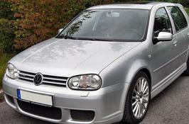 фото: лобовое стекло Volkswagen Golf 4