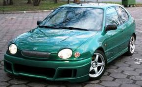передняя стойка Toyota Corolla