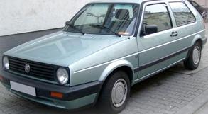 передняя ступица Volkswagen Golf 2