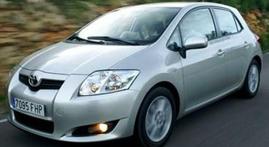 фото: лампа Toyota Auris