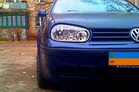 замена фары Volkswagen Golf 4